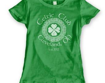 Celtic Club Cleveland Ohio Irish Ireland Women's T-Shirt DT0891