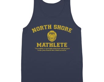 North Shore Mathlete Funny Mean Girls Team Movie Club Tank Top DT1528