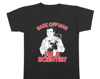 Back Off Man Im A Scientist Funny Ghost-Busters Costume Movie Youth T-Shirt DT0704