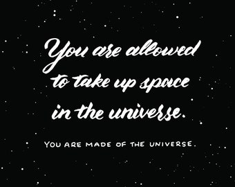 Made of the Universe