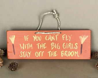 Come On In...The Witch Is Out Novelty Hanging Sign Halloween Witch Pagan