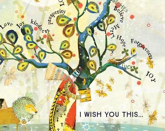 Sacredbee Card 408 WISH