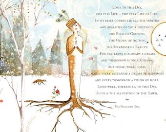 Sacredbee Card 372 Tree