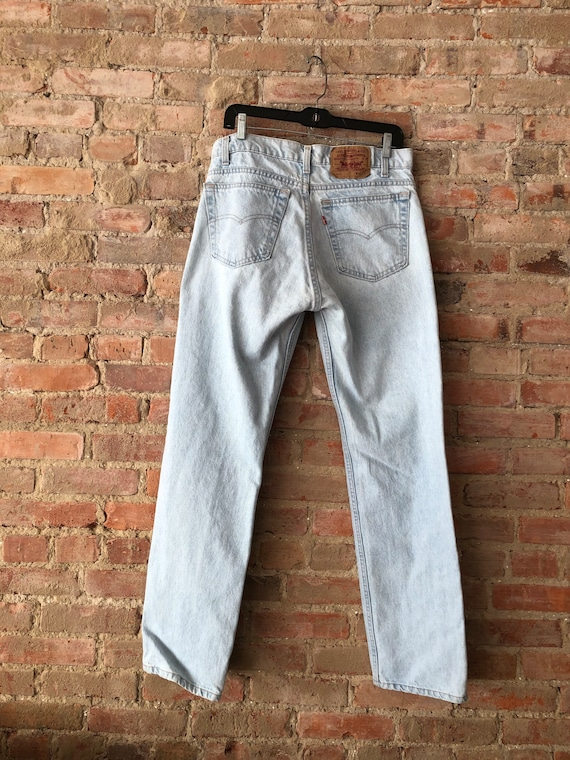 Vintage 505 Levi's 80's-Made in USA- 34x32