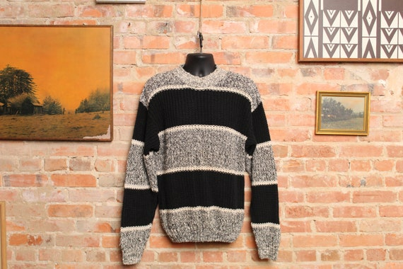 Vintage Cable Knit Pulse-8 Sweater