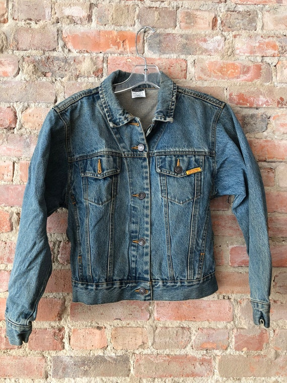 Vintage Jordache Jeans Jacket 90s XS