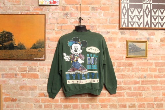 Vintage Mickey Mouse Utility Sweater