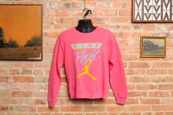 Rare Vintage NIKE Flight Sweater -Small-