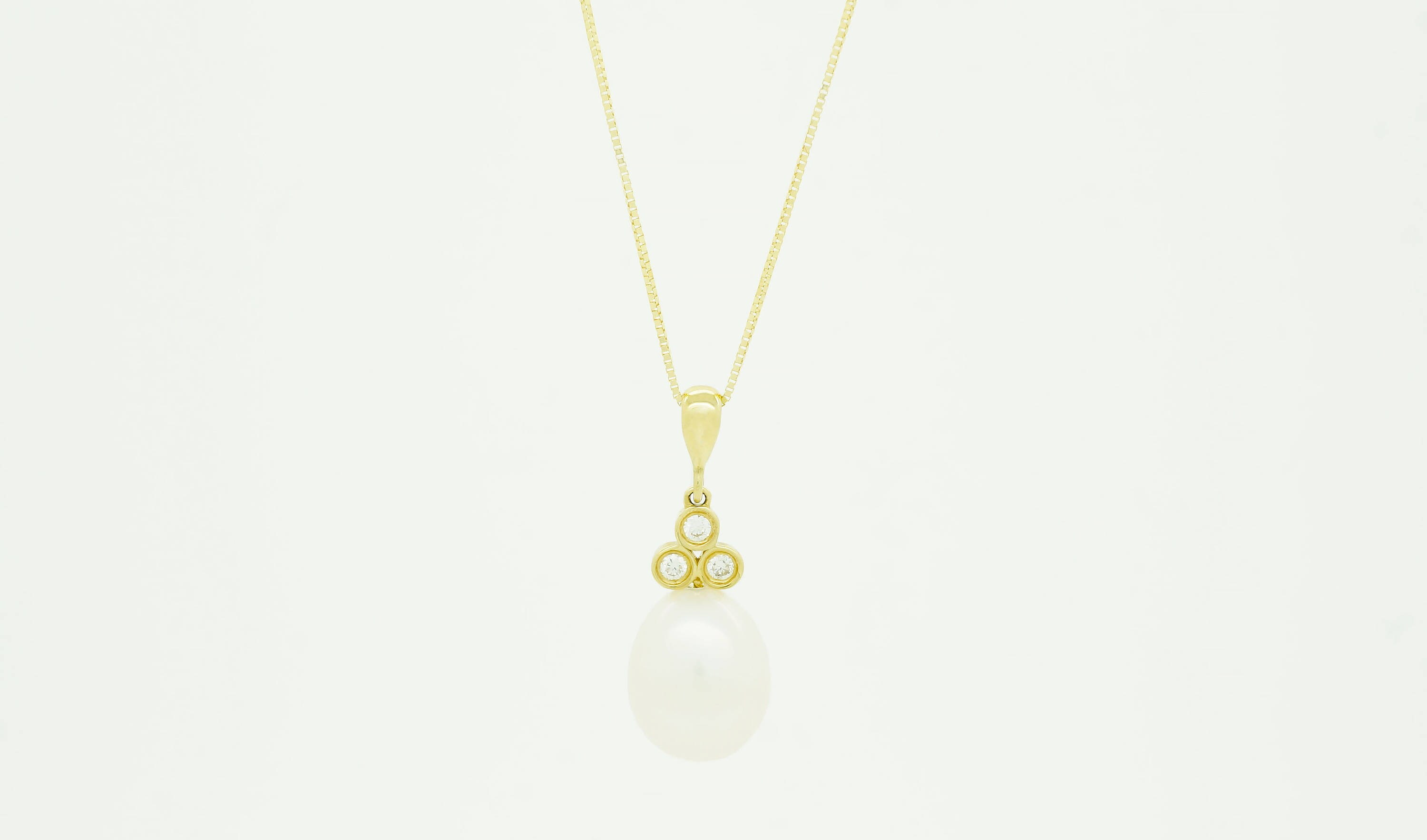 product the natural single pearl necklace dsc