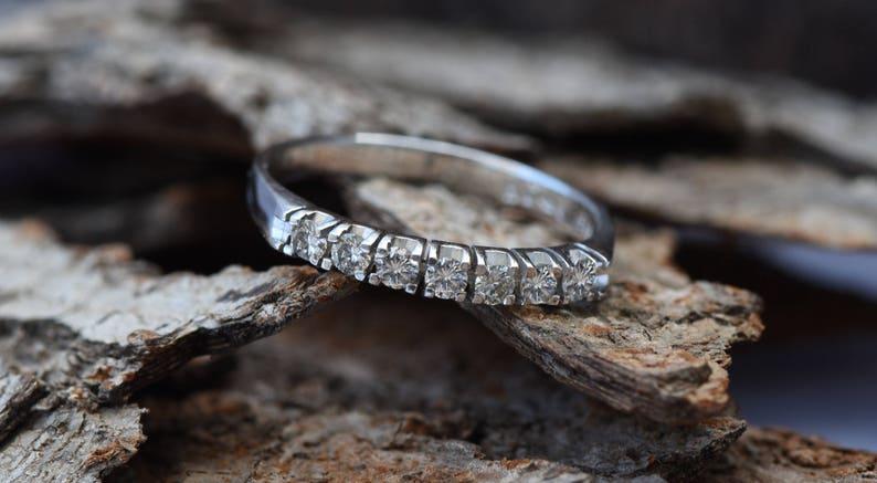 Eternity Wedding Band-Diamond Engagment Ring-wedding band image 0