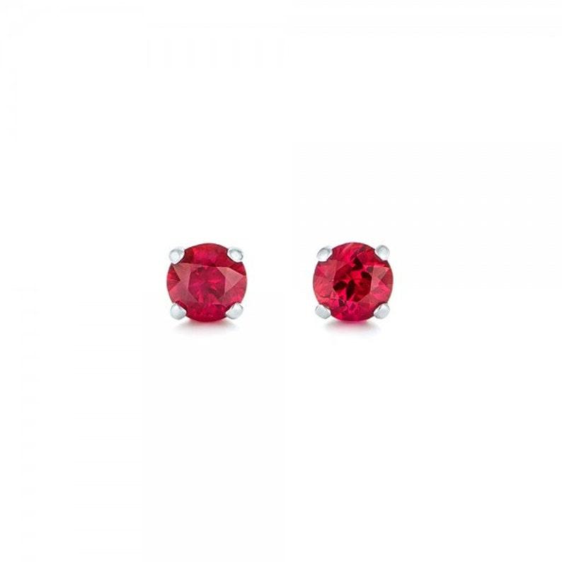 9 Karat Gelbgold Rubin Haufen Und Diamant Halo Ohrringe Und Halskette Set At Any Cost Fine Jewelry Diamonds & Gemstones
