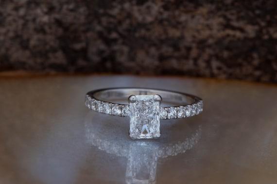 MMC Womens Necklaces Solitaire Stone Clear Stone Bridel Pendants