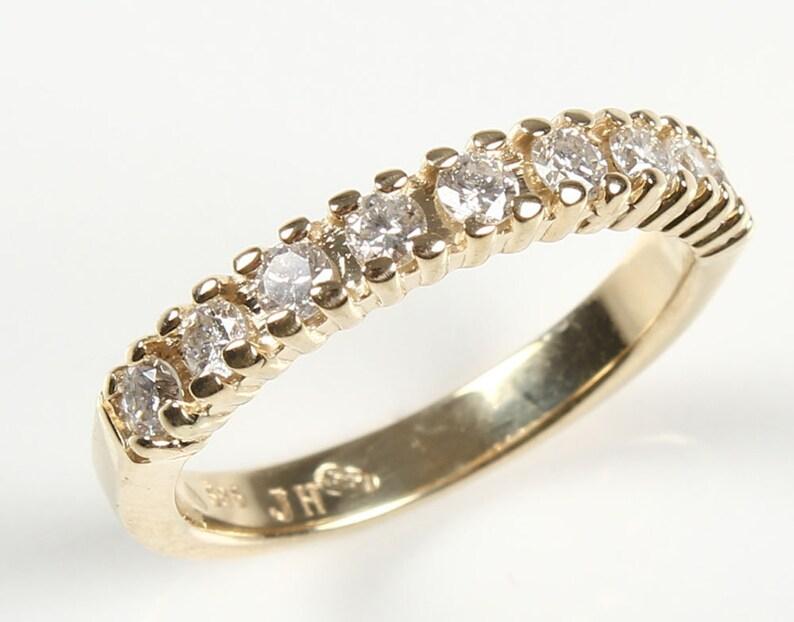 Eternity Wedding Band-Diamond Engagement Ring-Diamond image 0