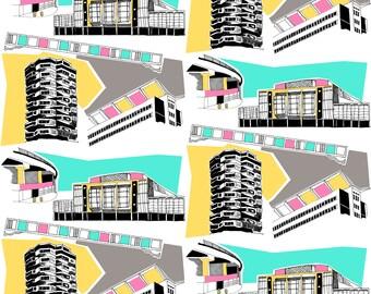 Fabric Design And Illustration Von Madebymrsm Auf Etsy