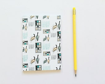 SALE - A6 Notebook - Suburban Streets