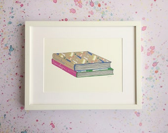 CLEARANCE - Virginia Woolf Art Print - Mrs Dalloway - To The Lighthouse