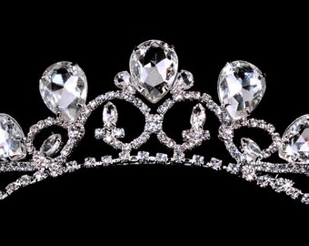 Style # 16218 Rising Pear Tiara Comb