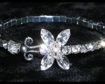 Style # 14943 - Butterfly Wraparound Coil Bracelet
