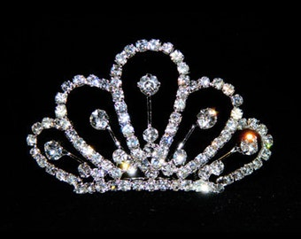Style # 15676 - Mini Scalloped Tiara Comb