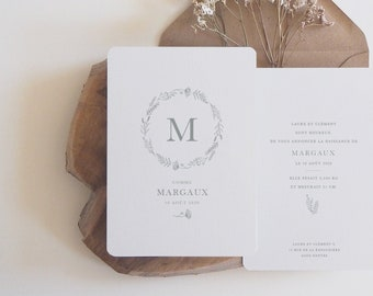 Birth announcement Margaux - Marcel