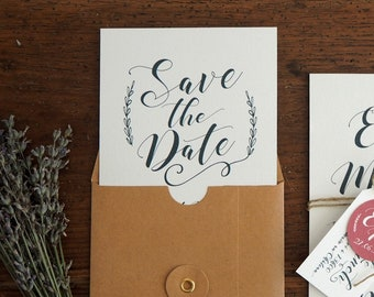 Save the date - Collection Kinfolk mariage