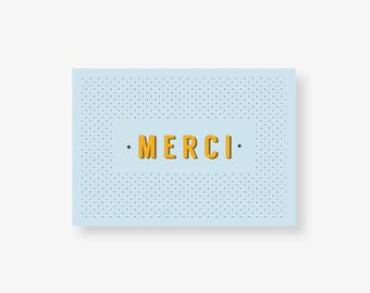 """Carte de remerciement """"Anatole"""""""