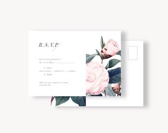 RSVP carton réponse - Collection Botanique