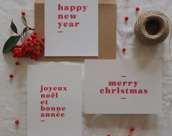 Christmas card, handmade