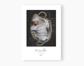 Birth announcement Pernille