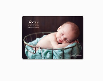 "Birth announcement ""Icare"""