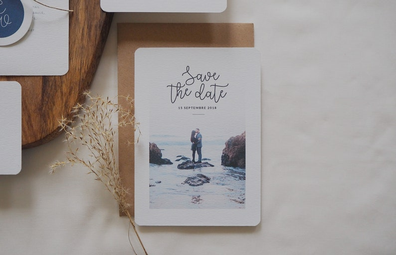 Save the date  Collection La Mer  Mariage image 0