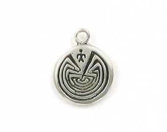 aa4d6b7de5a3 Sterling Silver Man In a Maze Charm