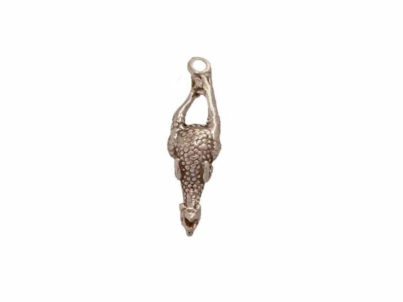 Rubber Chicken Charm for Joke or Children/'s Bracelet Designs