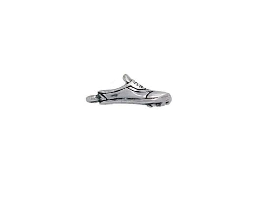 Sterling Silver Track Shoe Charm for