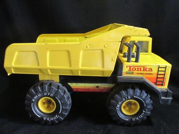 Grand camion benne tonka turbo diesel xmb 975 m tal moul etsy - Camion benne tonka ...