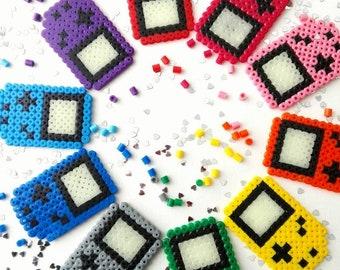 GAMEBOY Nintendo Magnets Perlerbeads Pixelart 8-Bit Fridge Oldschool retro, Glow in the dark display