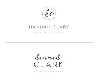 Premade Logo Design, Business Logo, Watermark, Photography Logo