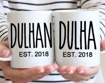 Dulhan and Dulha Set. Muslim Wedding Gift, Islamic Nikah Couples Gift