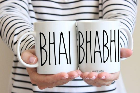 Bhai And Bhabhi Brother Gift Anniversary Gift Etsy