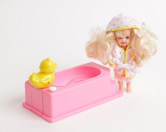 Barbie 1:6 or Dollhouse Miniature Bath Ducky Duck for Tommy or Kelly