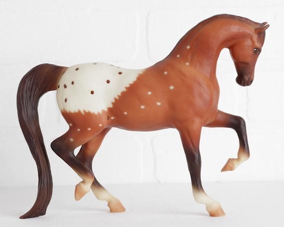Breyer Horse custom nursing foal appaloosa