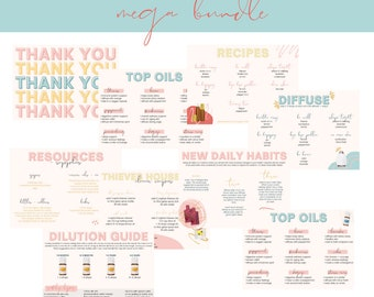 YL Welcome Bundle, Member Care Pack, Young Living Welcome Postcards, Happy Mail,  Essential Oil Resource, Young Living Postcard