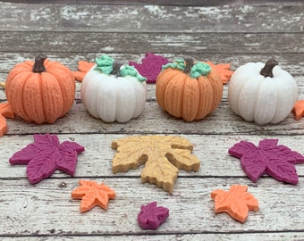 Fall Wedding Favors Mini pumpkin Halloween Party 75 Pink Pumpkin Soap Party Favors Girl Baby Shower Sprinkle Bridal Gender Reveal