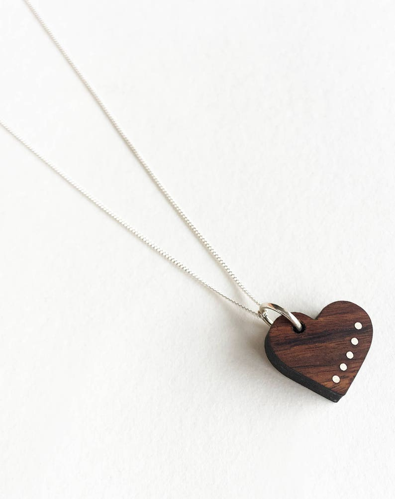Wood Anniversary Gift  5 Year Anniversary for Her  Delicate image 0