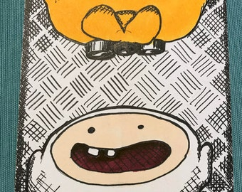 Finn & Jake  4x6 Original