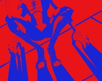 Spider-Man - Red and Blue 11x17 Print