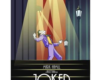 Animated Joker Poster