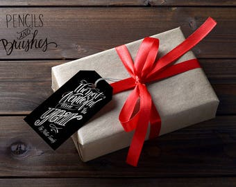 The Most Wonderful Time of the Year Gift Tags