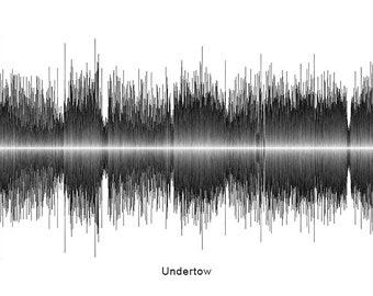 U2 One Download Soundwave Art ™ | Etsy