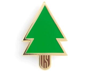 Pine Tree Enamel Pin